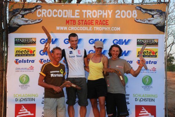 Crocodile Trophy 2008 - 6.etapa: nejlepší závodníci dne