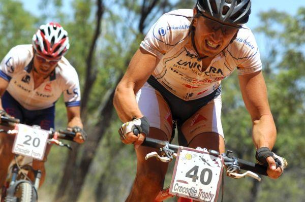 Crocodile Trophy '08 - 5.etapa: Luboš Kejval (40) a Tomáš Kozák (20)