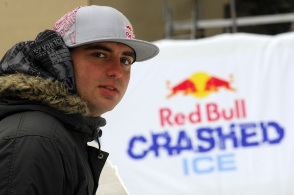 Red Bull Crashed Ice - Vy�ehrad 2009: Michal Prokop
