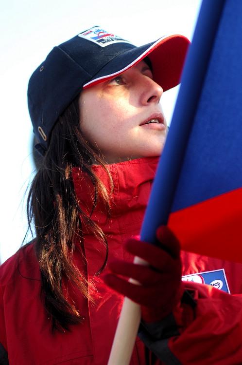 MS Cykokros - Hoogerheide 2009: česká fanynka