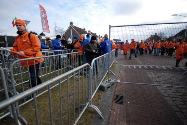 MS Cykokros - Hoogerheide 2009: vstup do areálu