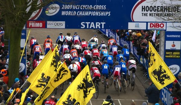 Mistrovství světa Cyklokros, Hoogerheide/NIZ - 1.2. 2009 - start žen
