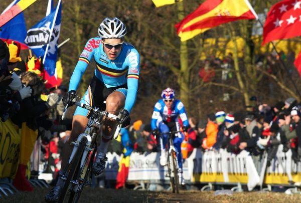 Mistrovství světa Cyklokros, Hoogerheide/NIZ - 1.2. 2009 - Niels Albert ujíždí