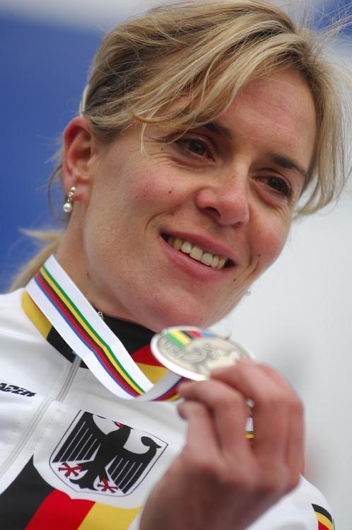MS Cyklokros Hoogerheide /NED/ 2009 - Hanka Kupfernagel získala stříbro