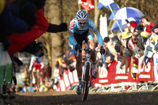 MS Cyklokros Hoogerheide /NED/ 2009 - útok Nielse Alberta