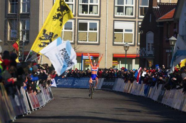 Mistrovství světa Cyklokros, Hoogerheide/NIZ - 31.1. 2009 - junior Tijmen Eising