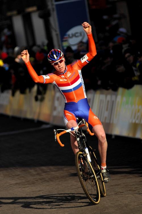 MS CX Hoogerheide 2009 - junioři: Eising vítězí