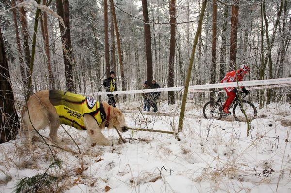 Mistrovství ČR cyklokros - Kolín 10.1. 2009, foto: Miloš Lubas