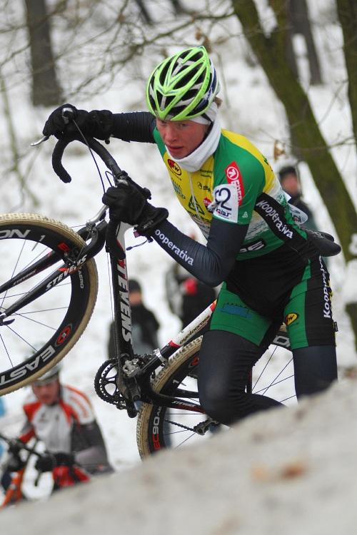 MČR Cyklokros 2009 - Kolín: Jan Nesvadba
