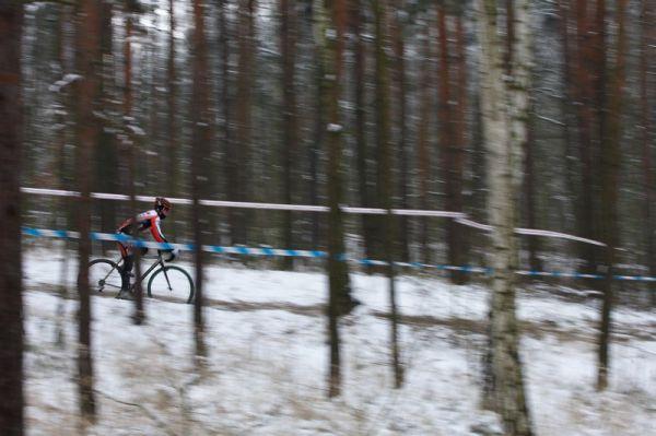 Mistrovství ČR cyklokros - Kolín 10.1. 2009