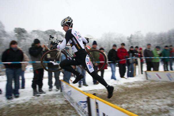 Mistrovství ČR cyklokros - Kolín 10.1. 2009 - Radomír Šimůnek