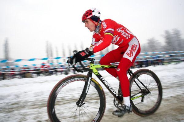 Mistrovství ČR cyklokros - Kolín 10.1. 2009 - Martin Bína