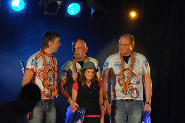Finálový večer KPŽ '08: bikeři nad 100 Kg