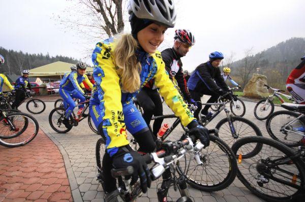 Cyklotrenink.com Kemp 2008 - Veronika Jarošová