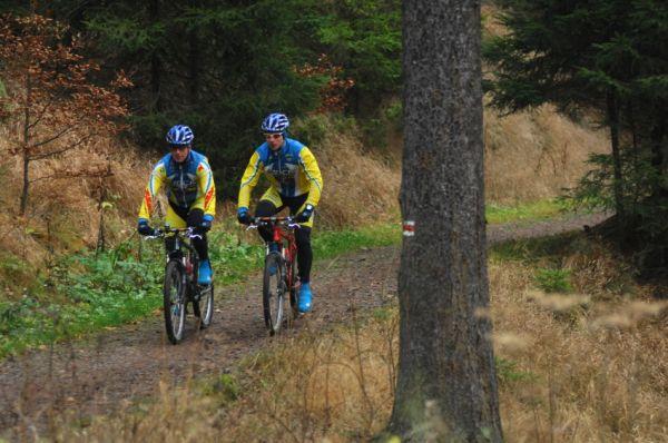 Cyklotrenink.com Kemp 2008 - Petr Sulzbacher a Franta Žilák