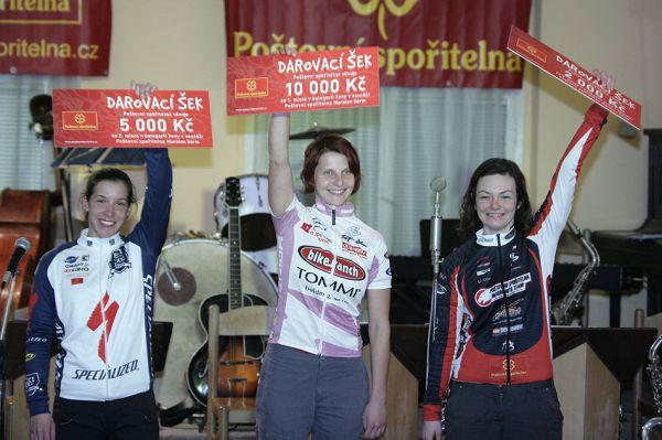 Poštovní spořitelna MX a 24 série - a tady už je komplet trojice nejlepších žen maratónek