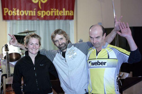 Poštovní spořitelna MX a 24 série - Arne Charvát se svým vítězným týmem