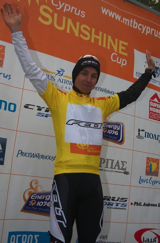 Sunshine Cup #2 - Afxentia Stage Race 2009, Kypr - Emil Lindgren měl zvedání rukou nacvičené dokonale
