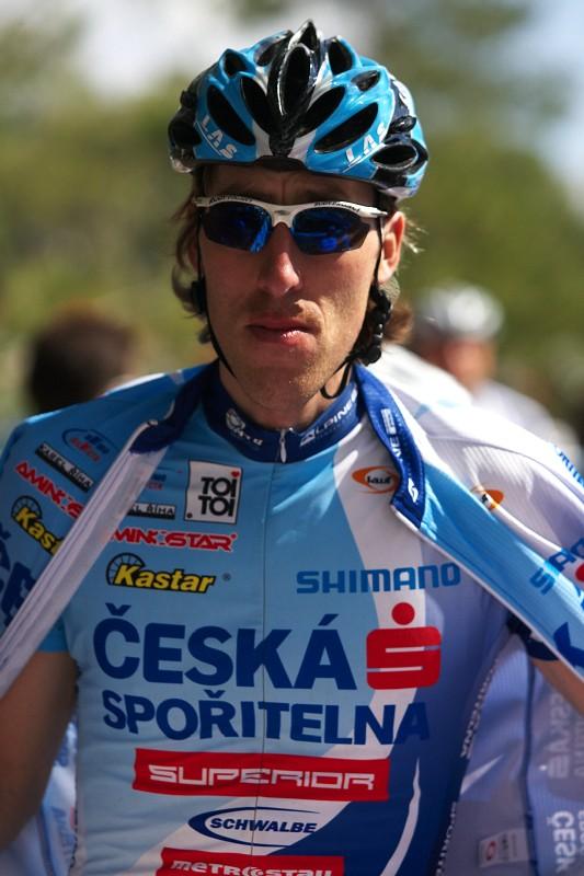 Sunshine Cup #2 - Afxentia Stage Race 2009, Kypr - Milan Spěšný v dresu České spořitelny, je třeba si zvykat!