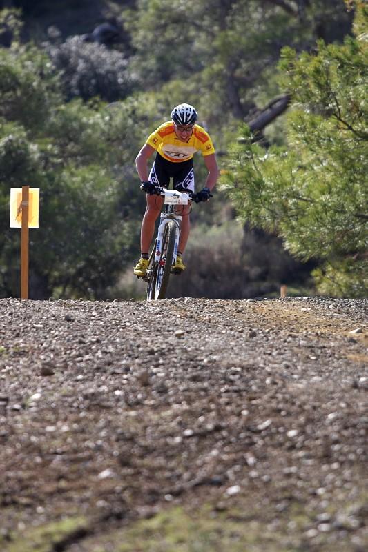 Sunshine Cup #2 - Afxentia Stage Race 2009, Kypr - Ve druhém okruhu Emil Lindgren již sólíčkoval....