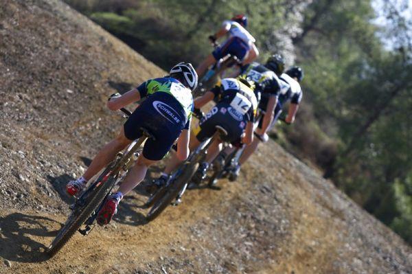 Sunshine Cup #2 - Afxentia Stage Race 2009, Kypr - Ondřej Cink zpočátku bojoval ve skupince o 9. místo