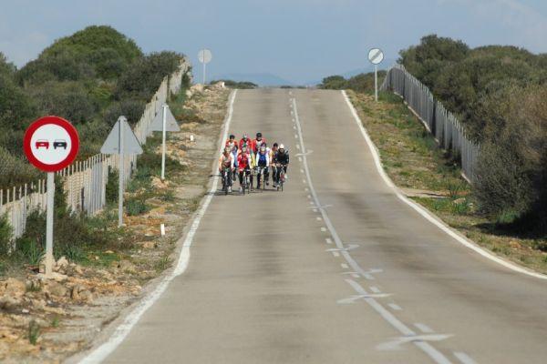 Najíždění kilometrů na Mallorce obrazem: