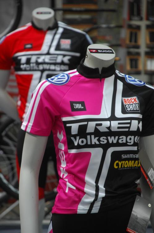 Sport Prague 2009: týmové dresy Trek