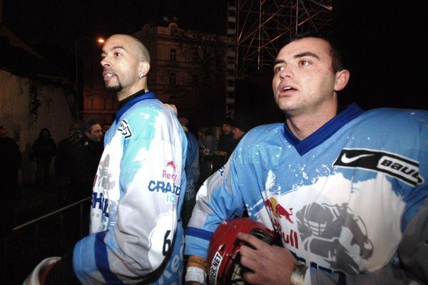 Red Bull Crashed Ice 2009 - Praha Vy�ehrad: Jasper Felder a Michal Prokop