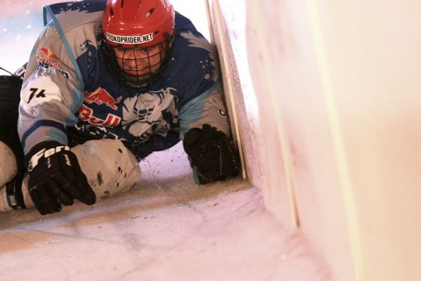 Red Bull Crashed Ice 2009 - Praha Vy�ehrad: Michal Prokop