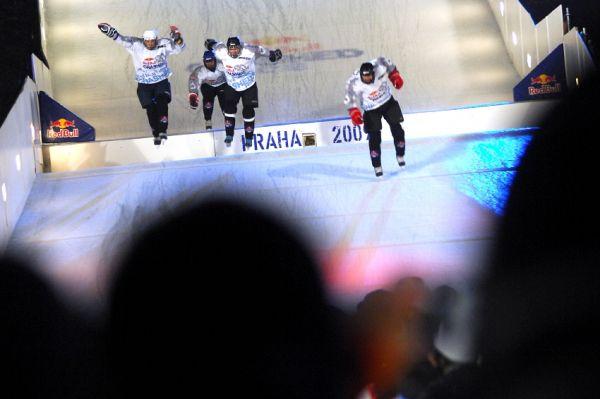 Red Bull Crashed Ice 2009 - Praha Vyšehrad: celebrity