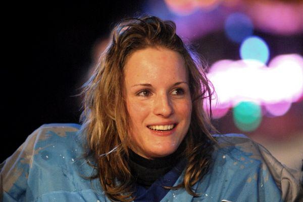 Red Bull Crashed Ice 2009 - Praha Vyšehrad: vítězka Jitka Nedbalová