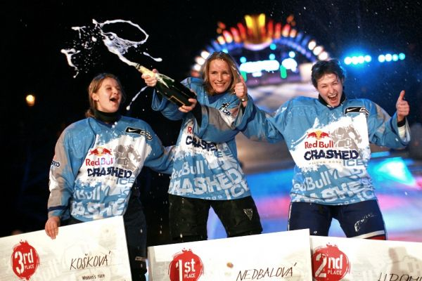 Red Bull Crashed Ice 2009 - Praha Vy�ehrad: nejlep�� �eny