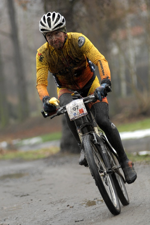 1. Zimní pražský MTB maraton '09: Václav Šafránek