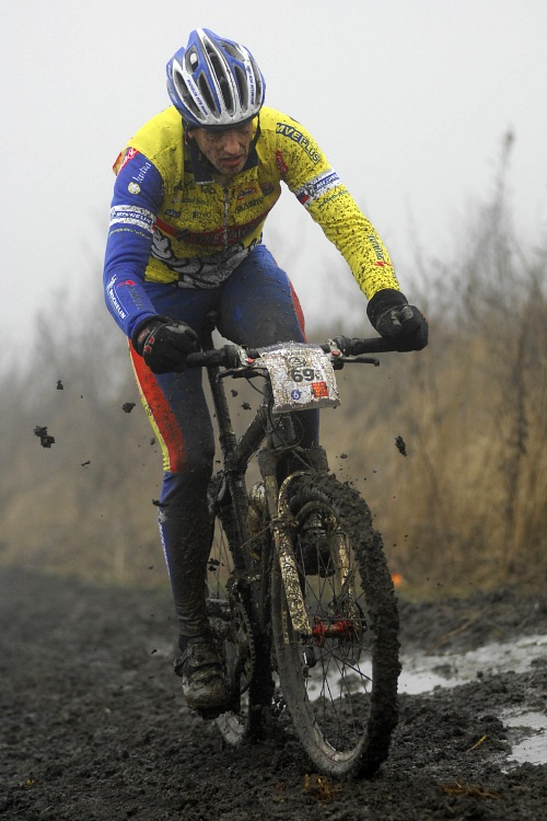 1. Zimní pražský MTB maraton '09: Viktor Zapletal