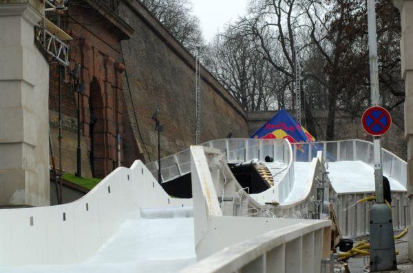 Red Bull Crashed Ice - Vyšehrad 2009: cílová rovinka