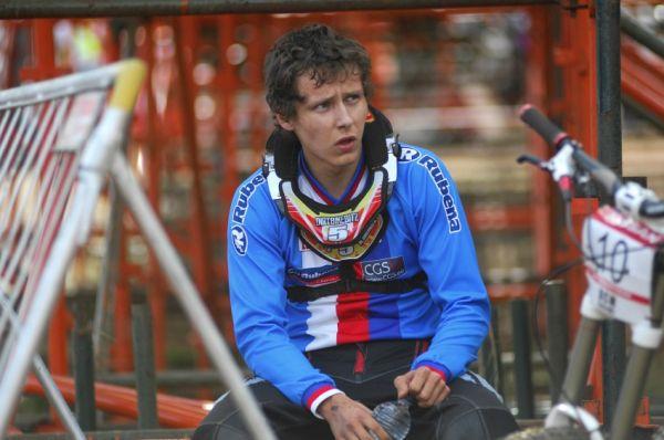 SP DH #1 2009 - Pietermaritzburg /RSA/: Erik Kimmel se nedostal o vteřinu do finále