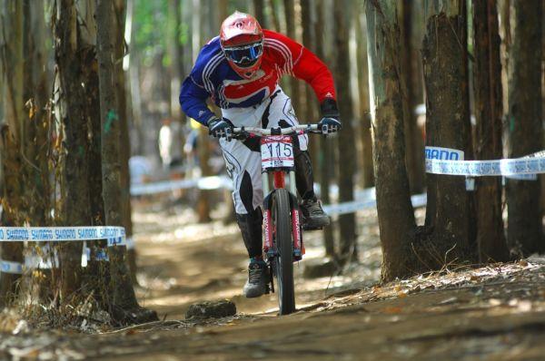 SP DH #1 2009 - Pietermaritzburg /RSA/: šlapavé XC sekce