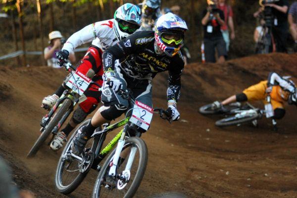 SP 4X #1 2009 - Pietermaritzburg /RSA/: Michal Prokop na první pozici v semifinále