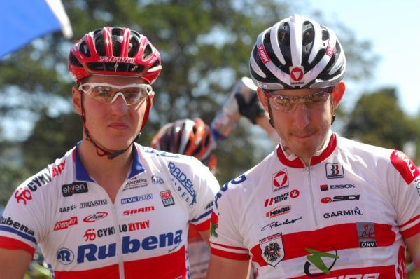 SP XC #1 2009 - Pietermaritzburg /RSA/: Jaroslav Kulhavý a Christoph Soukup