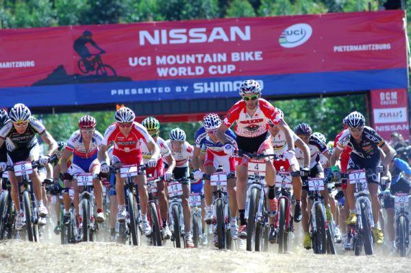 SP XC #1 2009 - Pietermaritzburg /RSA/: start mužů