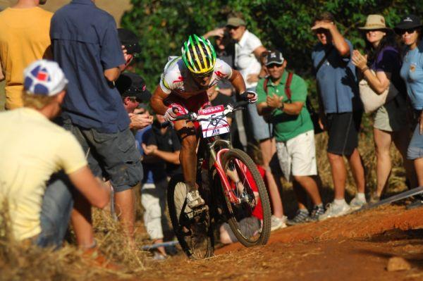 SP XC #1 2009 - Pietermaritzburg /RSA/: Burry Stander v nejprudším výjezdu