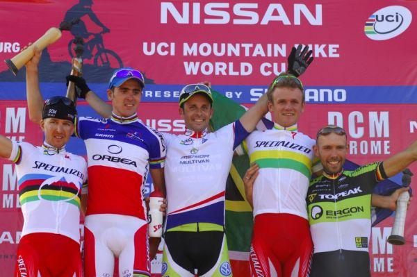 SP XC #1 2009 - Pietermaritzburg /RSA/: nejlepší muži
