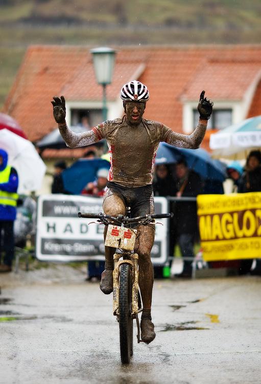 Kamptal-Klassik-Trophy, Langenlois /AUT/ - Christoph Soukup vítězí, 29.3. 2009, foto: Miloš Lubas
