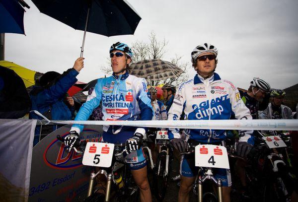 Kamptal-Klassik-Trophy, Langenlois /AUT/ - Spěšný a Škarnitzl na startovní čáře, 29.3. 2009, foto: Miloš Lubas
