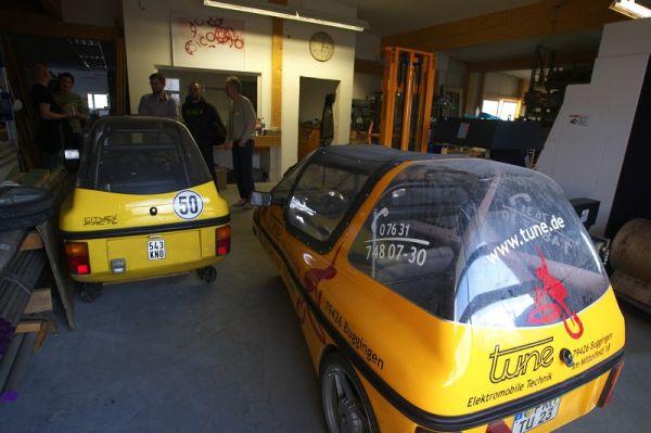 Tune factory - Tune se také zabývá výrobou miniaturních elektromobilů