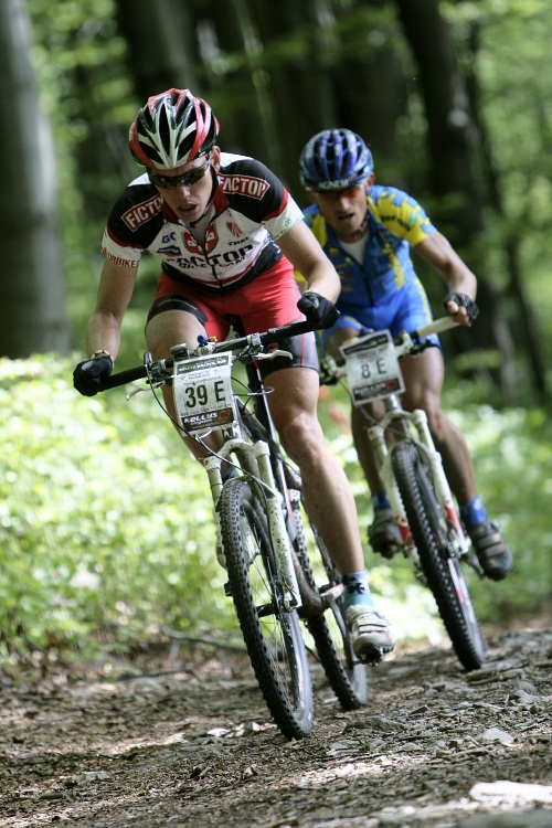 Kelly's Malevil Cup 2009 - �P XCM #2: Tom� Vokrouhl�k a Jan Hru�ka