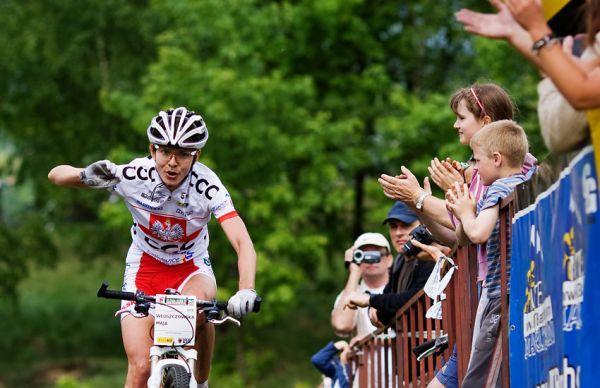 Maja Wloszczowska MTB Race - Jelenia Góra 9.5. 2009 - bravo Maja!