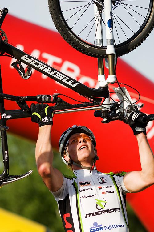 Maja Wloszczowska MTB Race - Jelenia Góra 9.5. 2009 - Jiří Friedl a Merida 96 - dokonalá symbióza