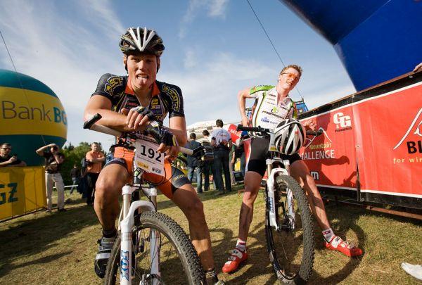 Maja Wloszczowska MTB Race - Jelenia G�ra 9.5. 2009 - Filip Eberl byl r�d, �e to m� za sebou