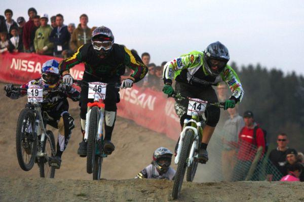 Nissan UCI MTB World Cup 4X #2 - Houfalize /BEL/ 1.-2. 5. 2009 - Kamil Tatarkovič